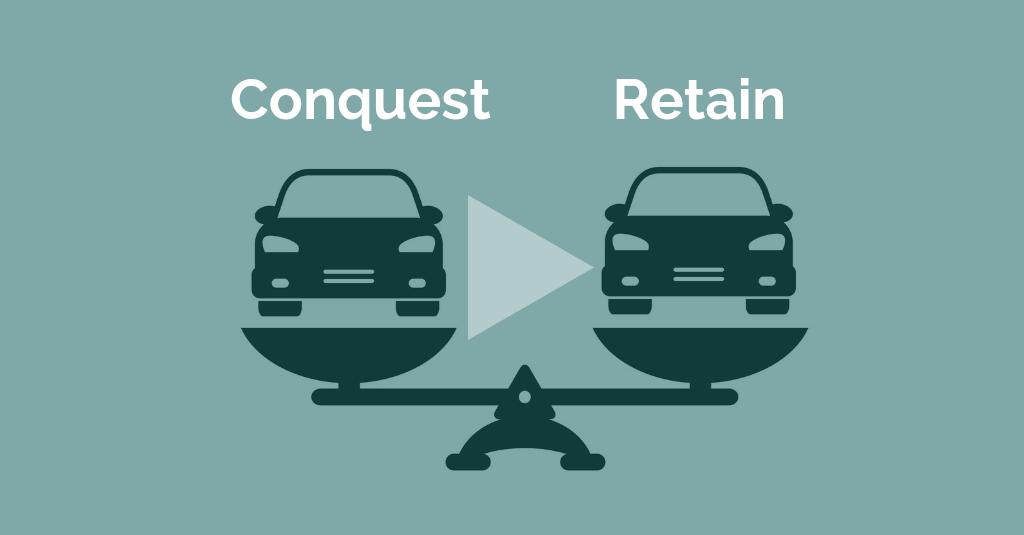 conquest vs retention